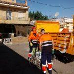 Desmantelados tres puntos ilegales de acopio de chatarra en Sevilla