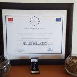 PelletSolucion recibe la medalla de oro al mérito en el trabajo por su labor investigadora en la gestión de residuos
