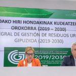 Abierto a exposición pública el nuevo Plan de residuos de Gipuzkoa