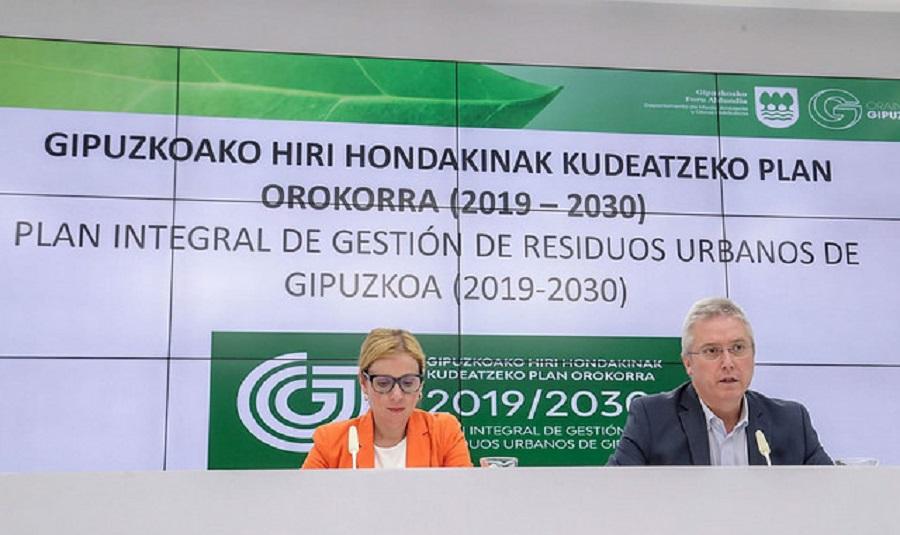 Se abre a participación pública el plan de residuos de Gipuzkoa