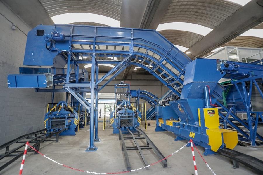Nueva planta de reciclaje de envases en Gipuzkoa