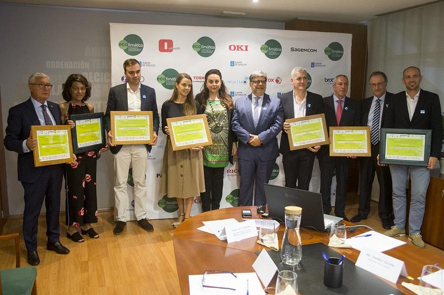 14 empresas gallegas premiadas en los premios Eco