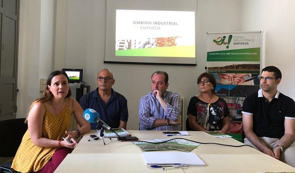 Presentación del proyecto de simbiosis industrial en Girona