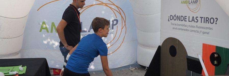 AMBILAMP premiará a los aficionados a la Vuelta Ciclista a España que reciclen sus lámparas