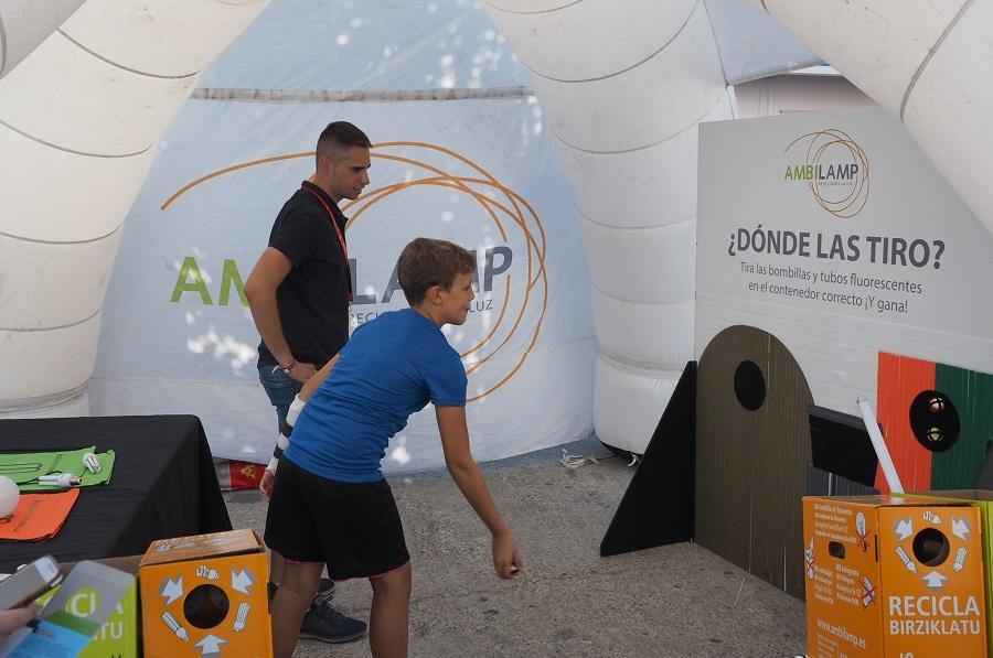 AMBILAMP colabora un año más con la Vuelta Ciclista a España para concienciar sobre el reciclaje de lámparas