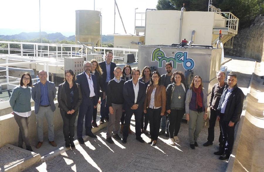 Representantes de los socios del proyecto REMEB