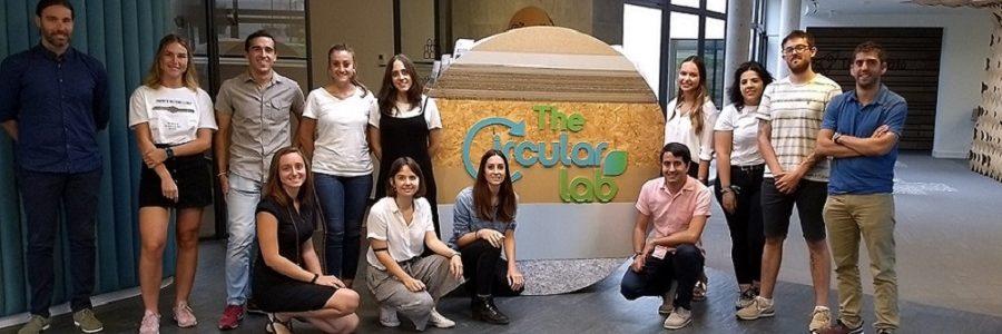 Jóvenes en busca de soluciones innovadoras para la gestión de residuos en la tercera edición de Circular Talent Lab