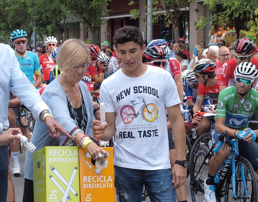 Campaña de AMBILAMP en la Vuelta a España