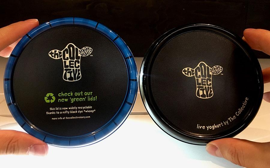 las tapas de plástico negro de The Collective se podrán reciclar