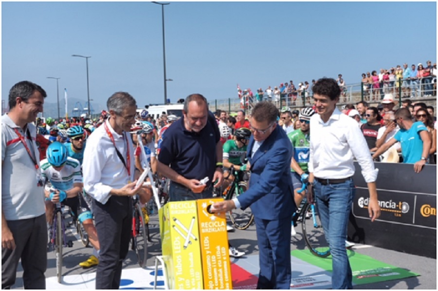 AMBILAMP en la Vuelta 2018