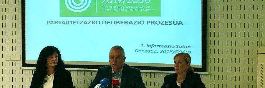 Gipuzkoa abre a participación pública su nuevo Plan de Residuos