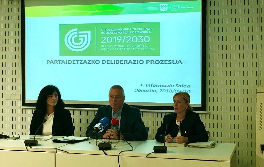 Gipuzkoa abre a participación pública el plan de residuos