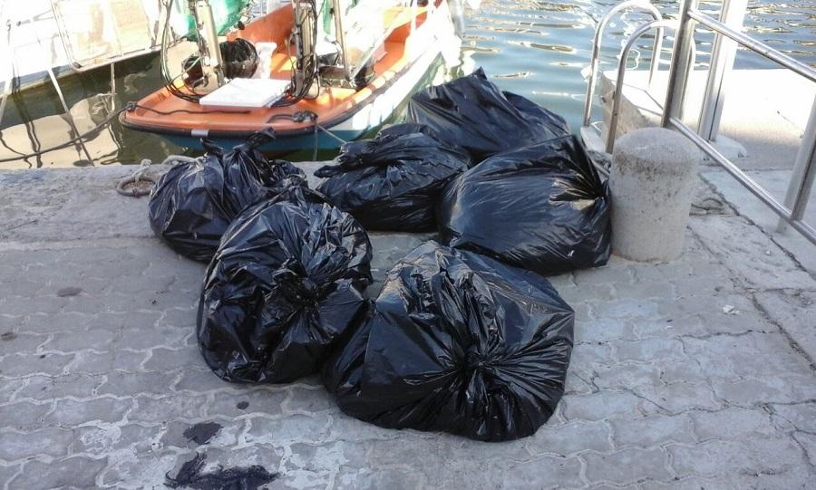 residuos recogidos en el litoral de las Islas Baleares