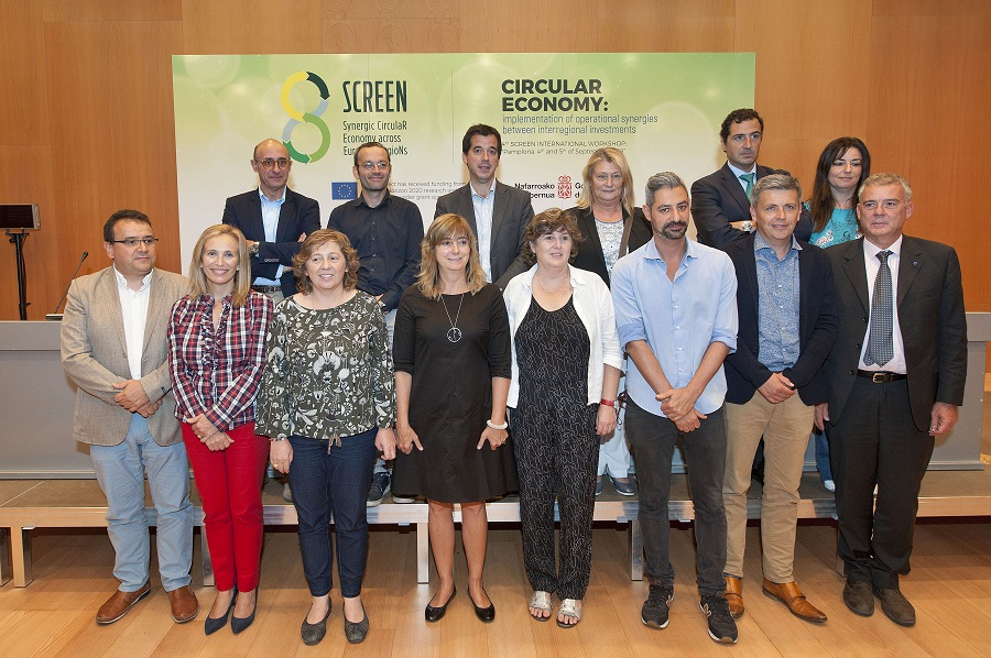 Navarra acogió la cuarta reunión del proyecto SCREEN