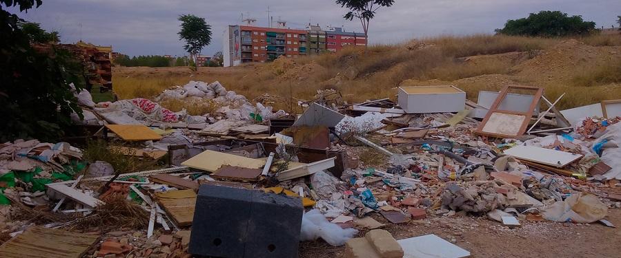 ARCI denuncia la cultura de la escombrera en la Comunitat Valenciana