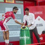 Ecovidrio recuperó casi 300 kg de residuos durante La Vuelta a España