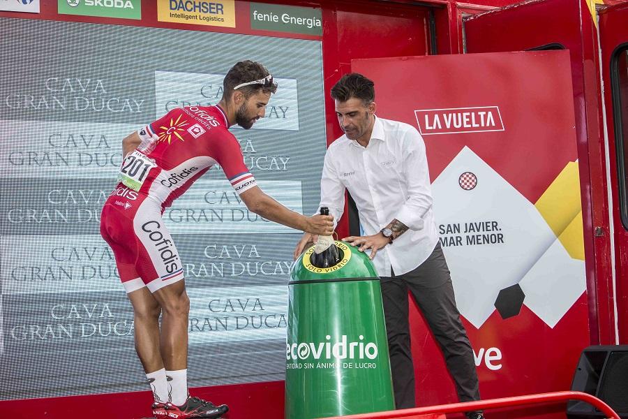 Ecovidrio en La Vuelta 2018