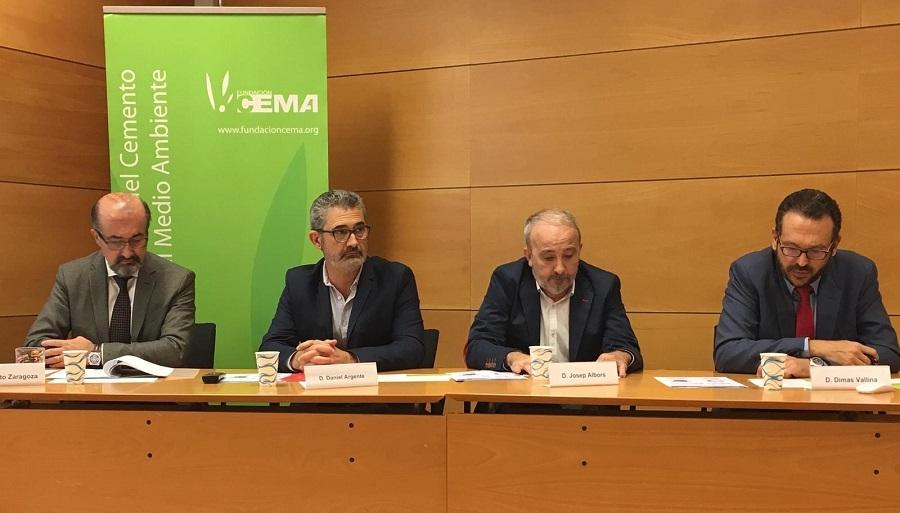 Presentación del informe sobre valorización de residuos en cementeras