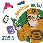 RAEE Andalucía impulsa la campaña educativa sobre reciclaje de residuos electrónicos 'Otro Final es Posible'