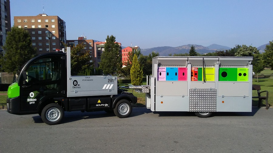 Nuevos puntos limpios móviles en Bilbao