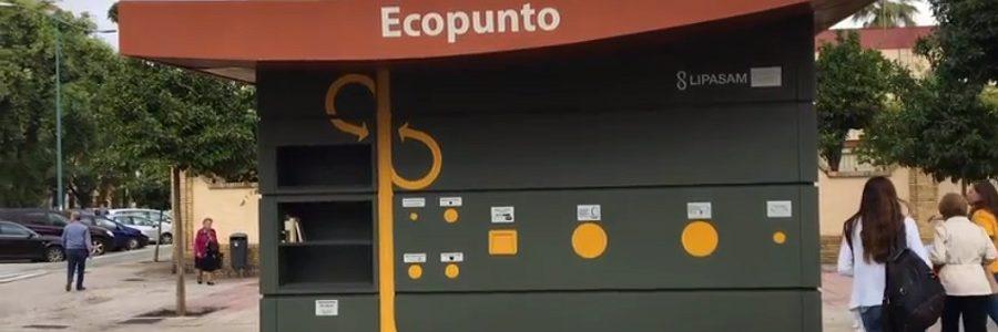 Sevilla instala puntos limpios urbanos en todos los distritos de la ciudad