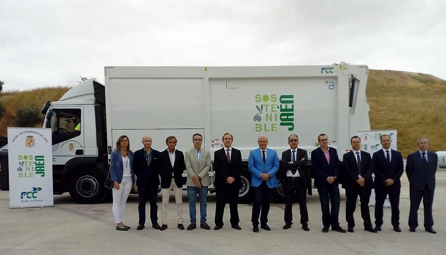 Nuevos vehículos de recogida de residuos en Jaén