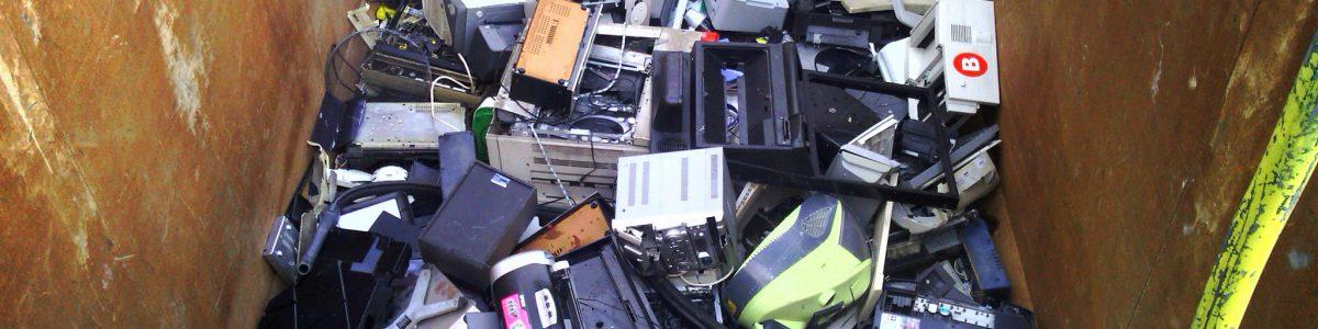 Este sábado se celebra el primer Día Internacional de los Residuos Electrónicos