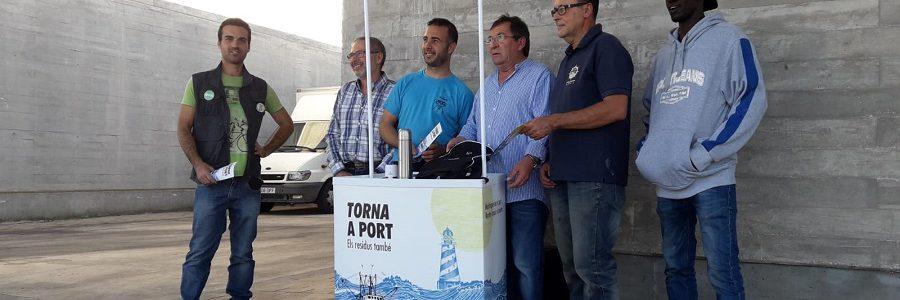Campaña para que los residuos generados por la actividad marítima regresen a puerto