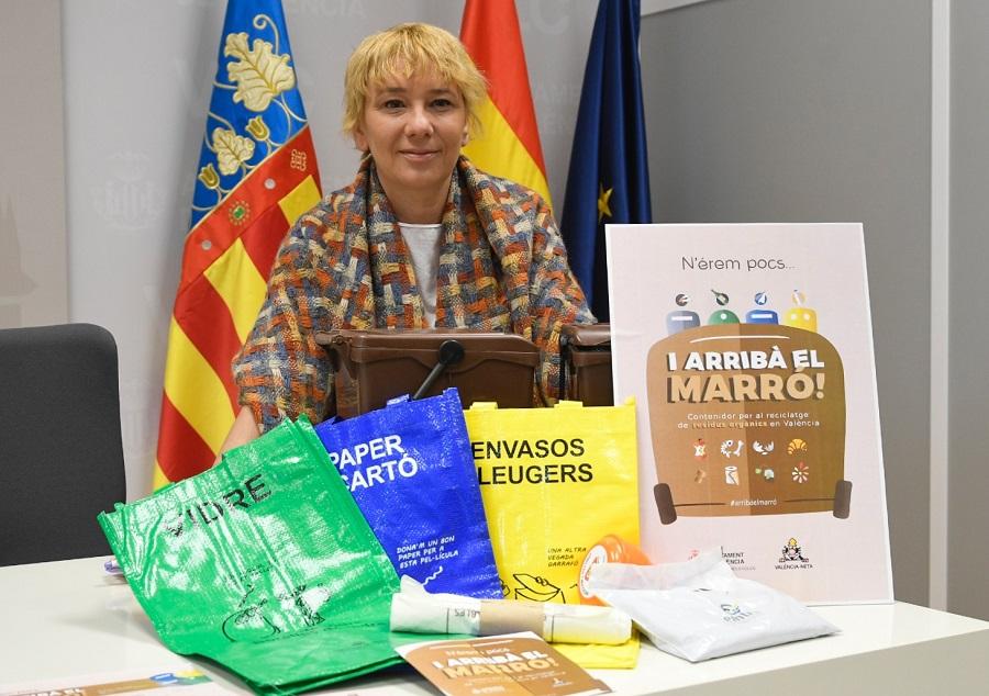 Se amplía la recogida de materia orgánica en Valencia