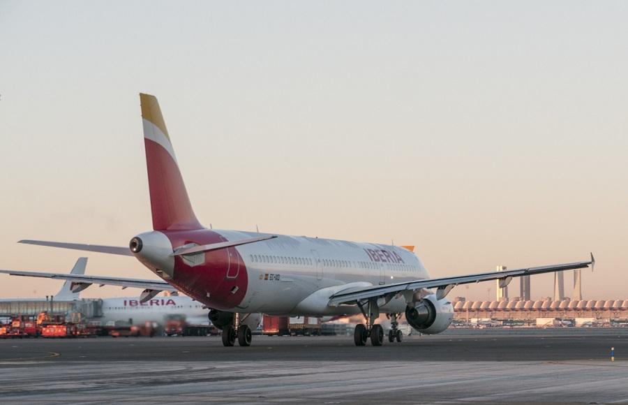 Iberia ya separa los residuos en sus vuelos