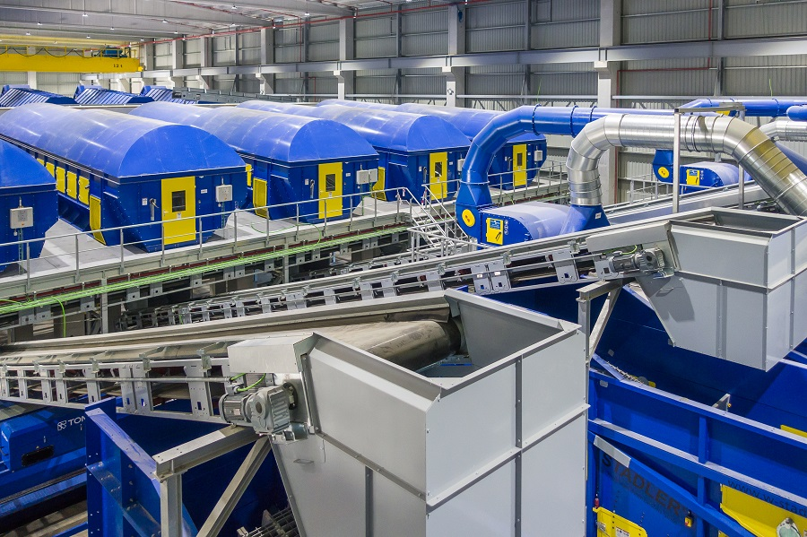 Nueva planta de reciclaje de Sogama