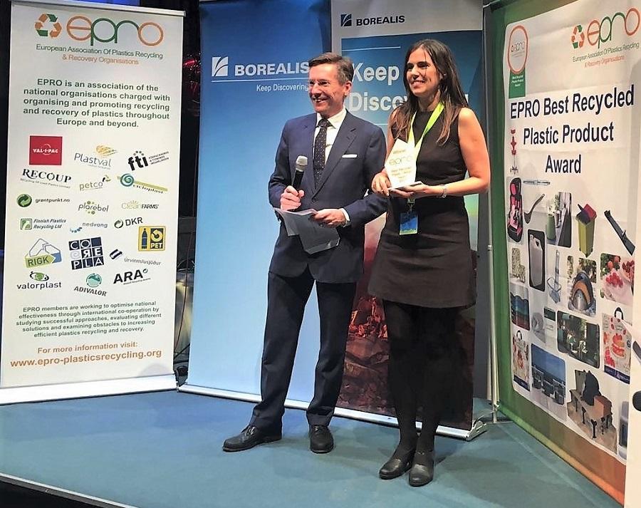 Premio al mejor producto de plástico reciclado