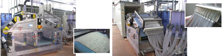 Planta experimental de no tejidos wet laid del proyecto CIRCLE