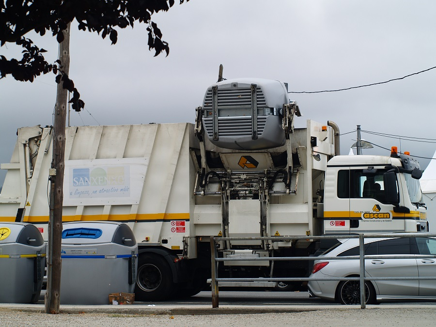 Una aplicación mide la callidad de los servicios de recogida de residuos y limpieza viaria