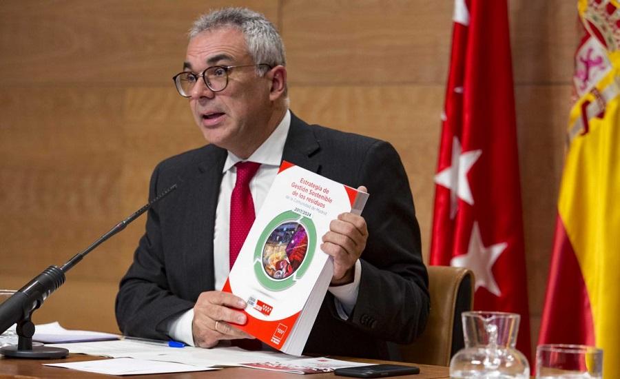 Presentación de la nueva estrategis d eresiduos de la Comunidad de Madrid