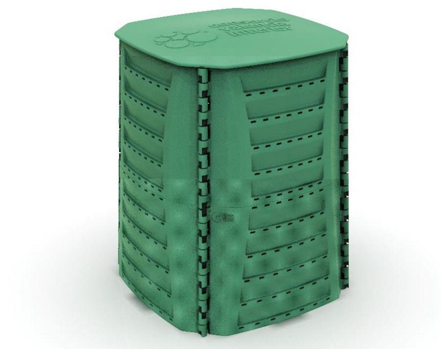 Compostadores a partir de plástico reciclado