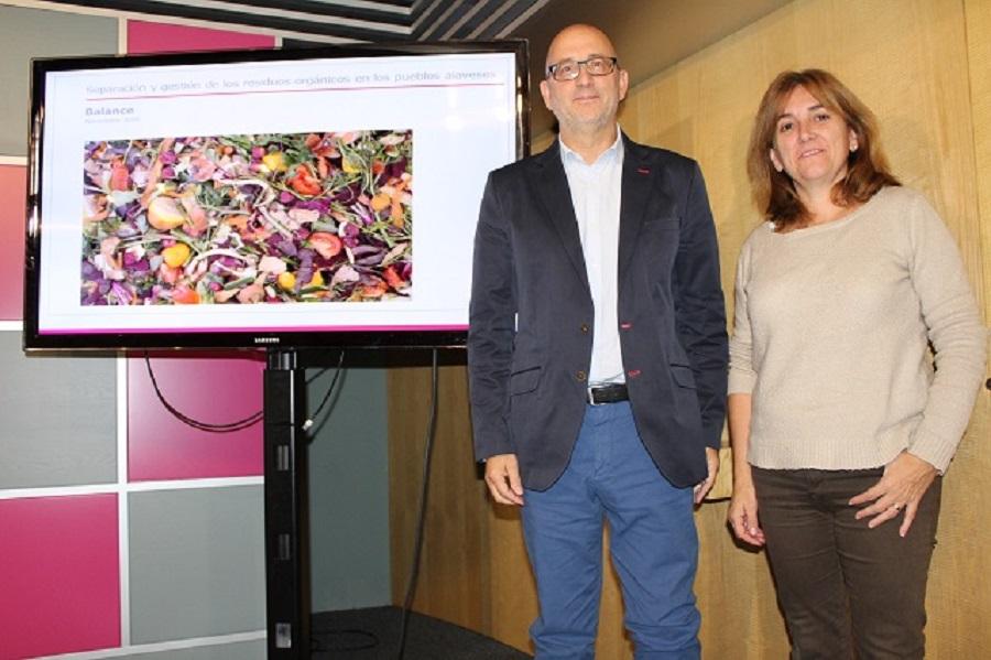 Álava ha puesto más medios para la gestión de residuos orgánicos