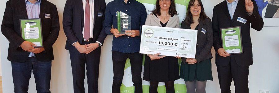 La ciudad de Gante gana el Premio Acción Transformadora 2018
