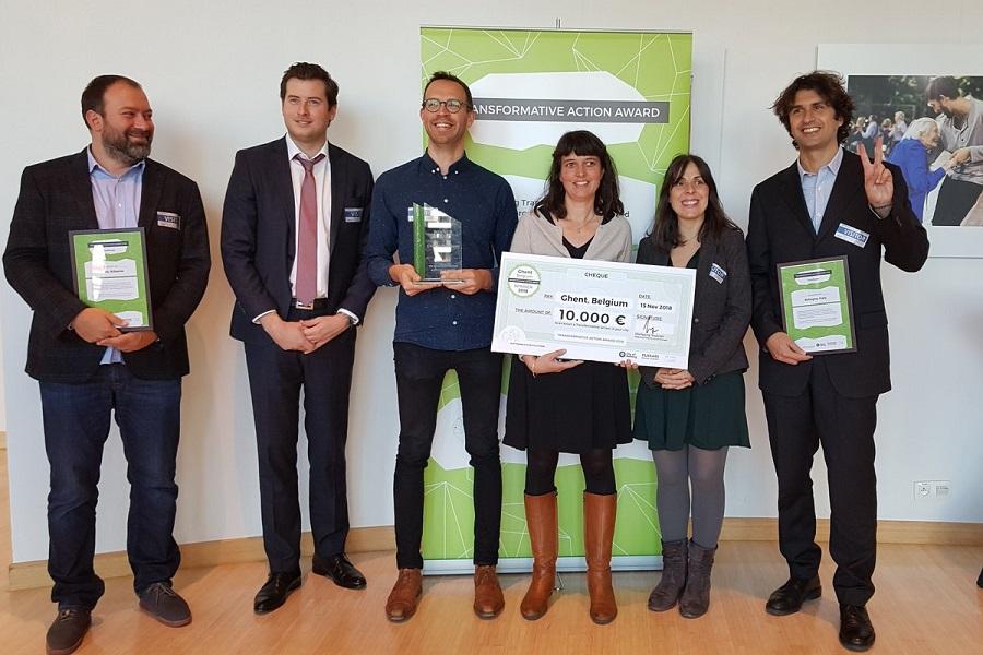 Gante, premio acción transformadora 2018