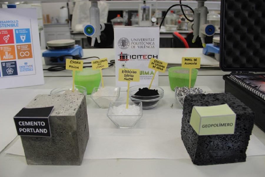 Investigadores de la UPV crean el hormigón más ecológico a partir de residuos