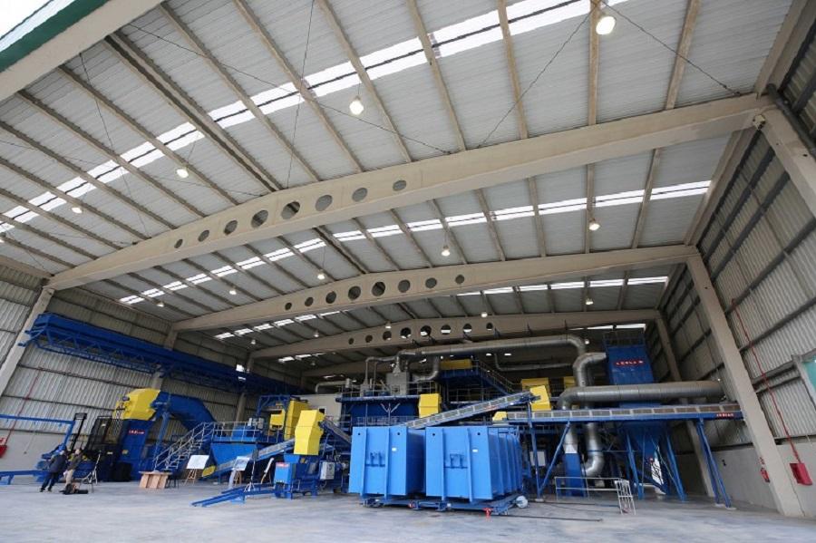 Nueva planta de tratamiento de residuos de Valsequillo (Málaga)