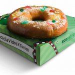 Ecovidrio repartirá en Barcelona 2.000 roscones de Reyes entre los ciudadanos que reciclen tres botellas de vidrio