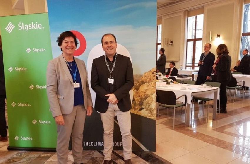 Representantes del Gobierno Vasco en la cumbre de cambio climático de Katowice