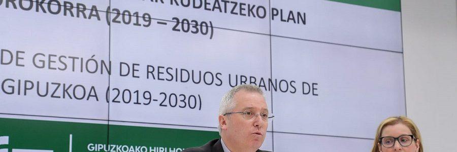 Aprobado el nuevo plan de residuos de Gipuzkoa, que fija un objetivo de reciclaje del 70%