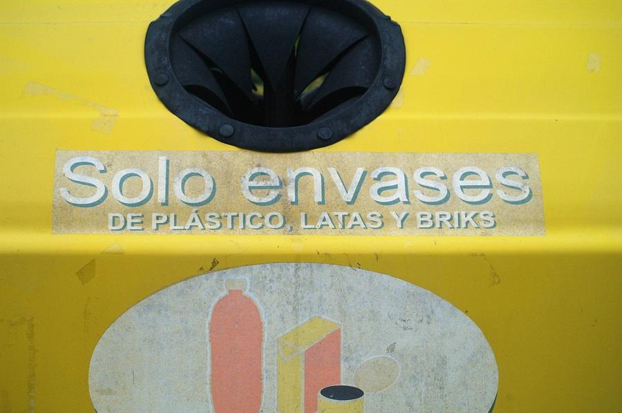 El contenedor de envases llega a Valladolid