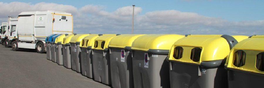 Lanzarote renueva la flota de vehículos de recogida de residuos urbanos y el parque de contenedores