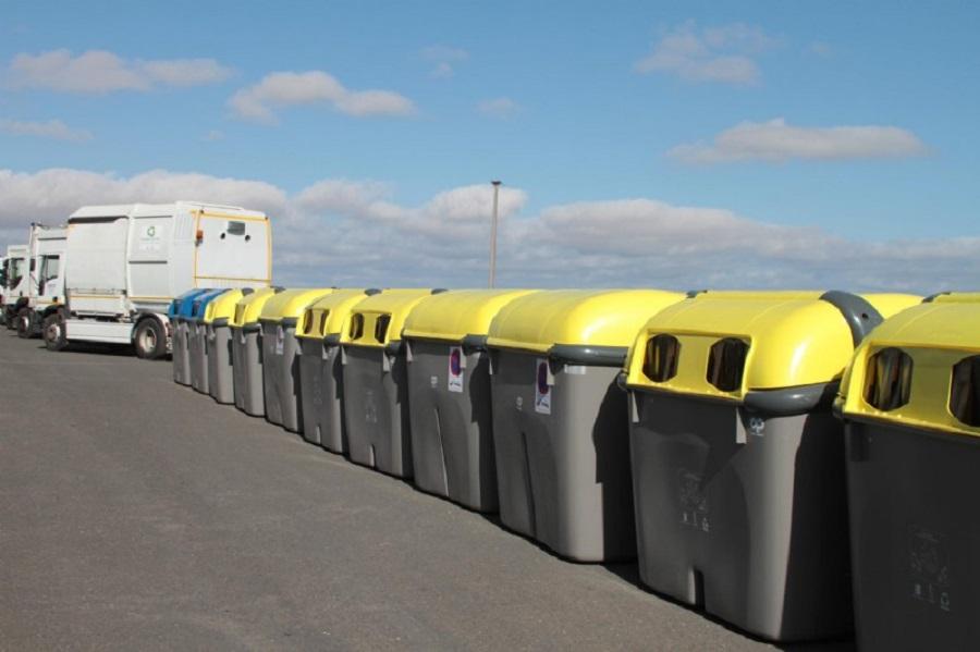 Nuevos camiones y contenedores de residuos en Lanzarote