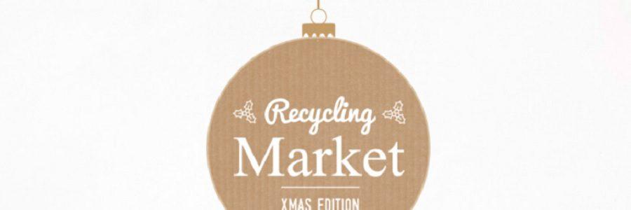 Más de 3.000 personas visitan el Recycling Market 'Xmas Edition'