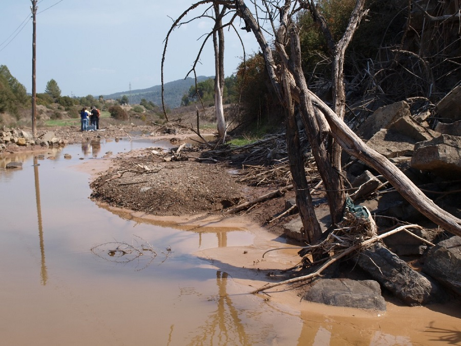 Agricultura y urbanización salinizan los ríos españoles