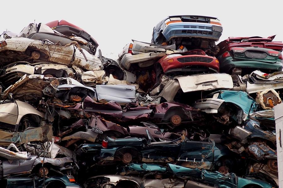 residuos de automoción
